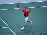 Denis Shapovalov had vijf sets nodig in de eerste ronde van de Australian Open