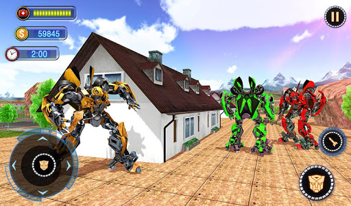 US Robot Car Transform - Police Robot Fighting 1.0.1 screenshots 18