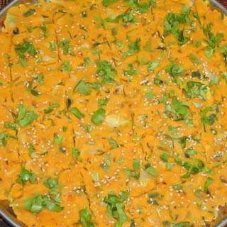 Jhunka Vadi Recipe (A North Karnataka/ Maharastrian Speciality)