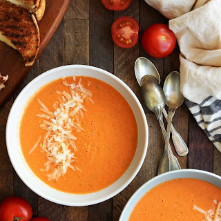 Easy Roasted Tomato Soup and a Giveaway.