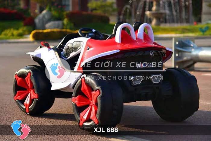 Xe ô tô điện địa hình cho bé XJL-688 16
