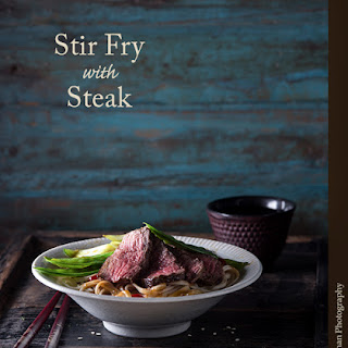Stir Fry with Steak.