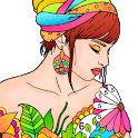 Adult Color By Number-Paint By Number Book Free icon