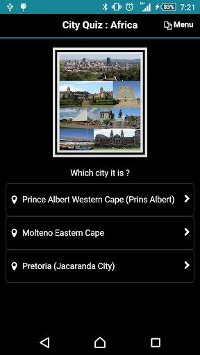 City Quiz: Africa