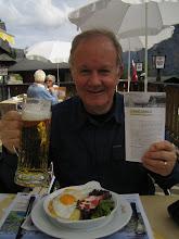 Photo: A Hearty Alpine Lunch in Murren Switzerland (September 2006)
