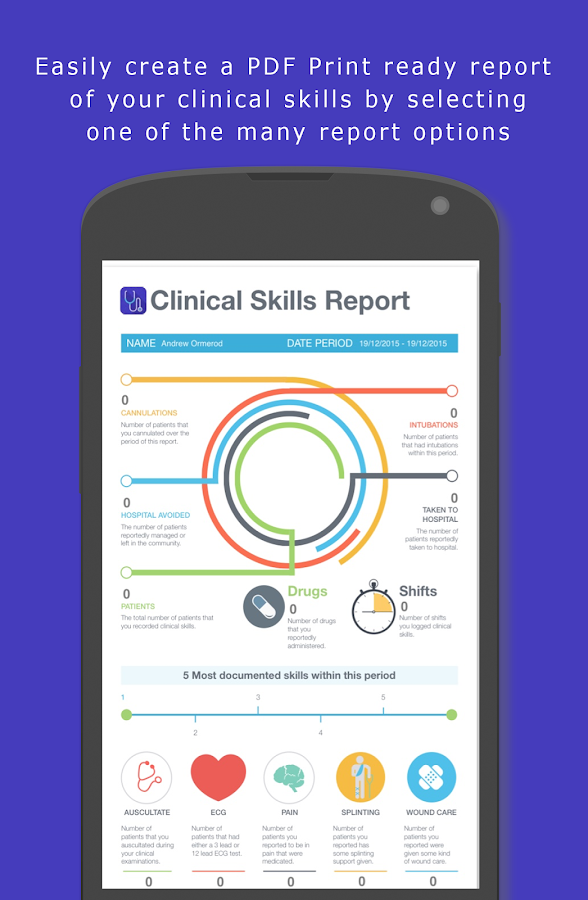 Clinical Skills- screenshot