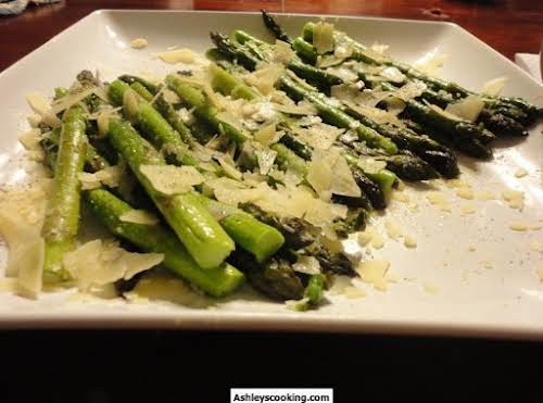 "Parmesan Asparagus ""Easy, tasty, and done in under 10 minutes - what's..."
