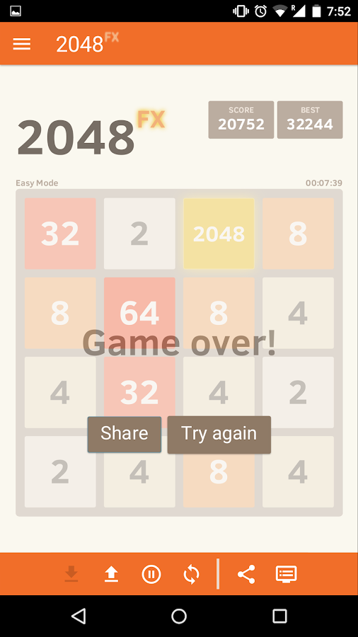 2048FX- screenshot