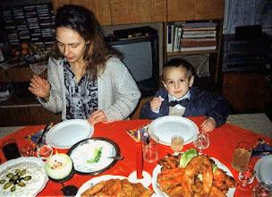 Photo: Wigilia 2000 - Julka i Dominik