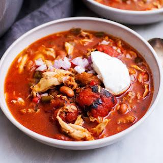 Chipotle Chicken Chorizo Chili.