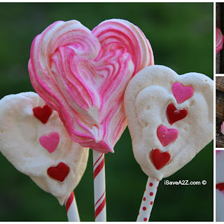 Easy Meringue Heart Cookies