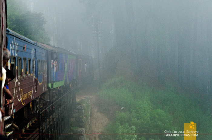 Ella to Colombo Train Fog