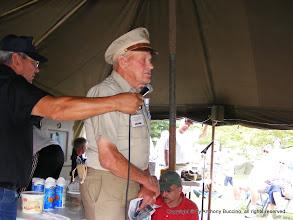 Photo: Lt. Warren Thomson, 89 year old