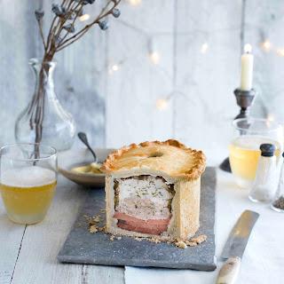 Turkey and Ham Raised Pie Recipe
