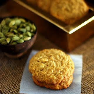 Coconut Oatmeal Cardamom Cookies.