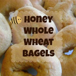 Honey Whole Wheat Bagels Recipe