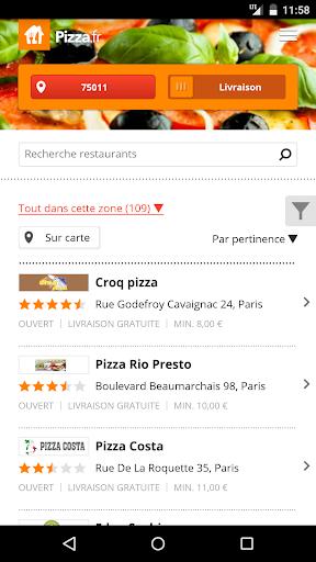 Pizza.fr - Livraison repas