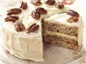Great Maple Syrup Nut Cake Recipe