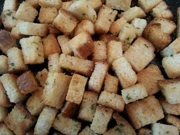 Crispy Sour Dough Croutons Recipe