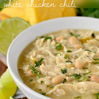 Crock Pot White Chicken Chili.