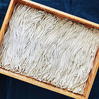 Homemade Soba Noodles