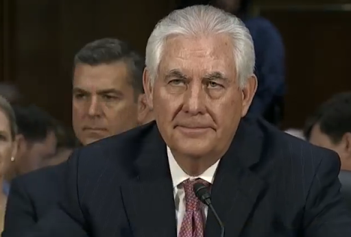 Sec. State Tillerson dismisses rift with Trump