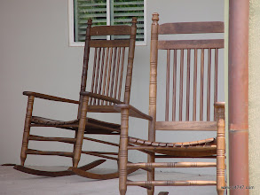 Photo: Rocking Chairs, Celebration Village, Celebration, FL