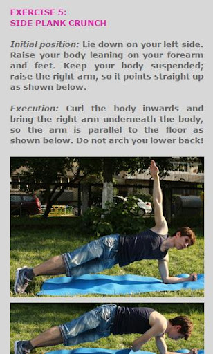 Abs Routine for Teens