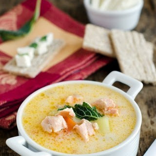 Cheese Fish Soup