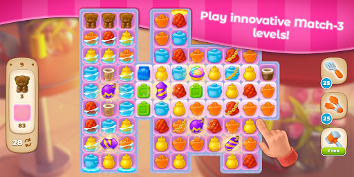 Cooking Paradise - Puzzle Match-3 game 2.0.6 screenshots 13