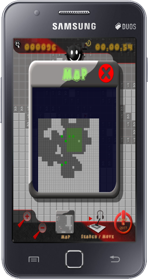 Minesweeper 512 x 512 square- screenshot