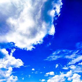 Clouds by Jurich Bitco - Landscapes Cloud Formations ( sky, blue sky, cloudscape, cloud formations, clouds )
