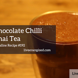 Alkaline Chilli Chai Hot Chocolate