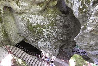 Photo: Droga do jaskini