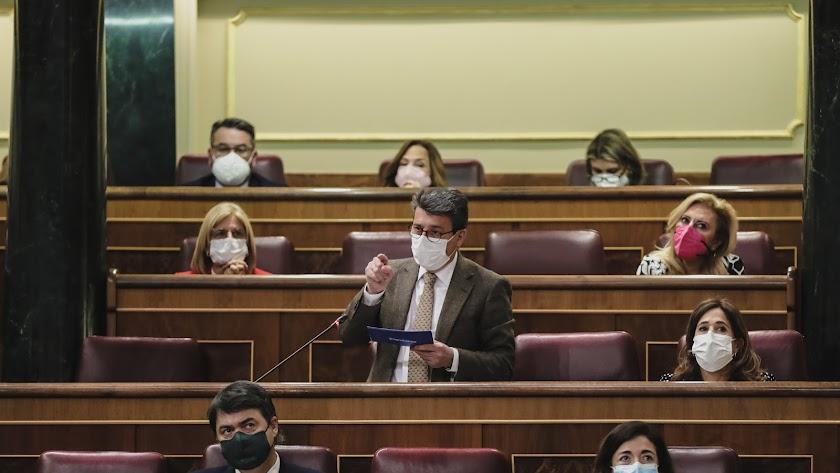 Juan José Matarí, diputado por Almería del PP.