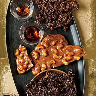 Spiced Cashew Brittle and Chocolate Crunch Bark Recipe