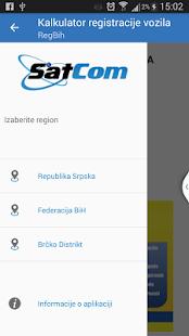 RegBih-Info servis - náhled