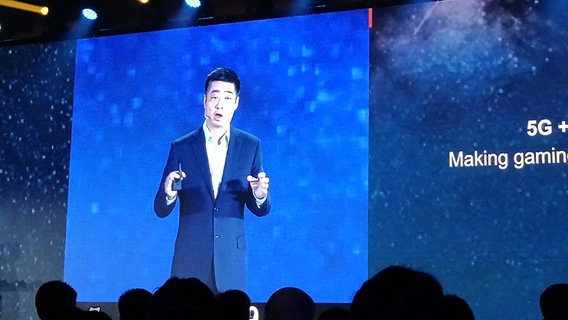 Ken Hu, Huawei deputy and rotating chairman.