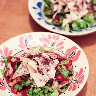 Lin's Fattoush Salad