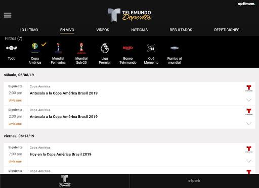 Telemundo Deportes - En Vivo screenshot 11
