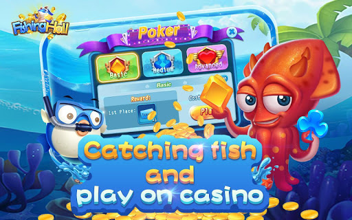 Fishing Hall-Free Slots,Poker,Fishing Saga 1.0.6 screenshots 18
