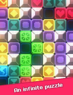 Glow Grid - Retro Puzzle Game- screenshot thumbnail
