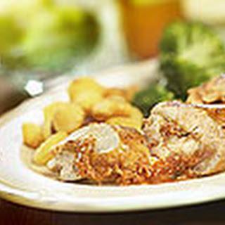 Kruidige Kipfilets Gevuld Met Buffelmozzarella