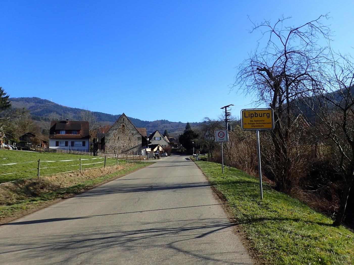 Lipburg, un semblant de montagne
