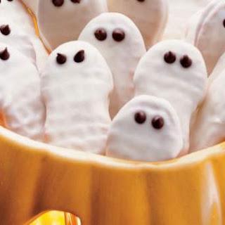Frightfully Easy Ghost Cookies