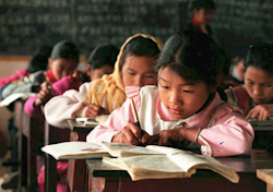 LingPing Village School in China