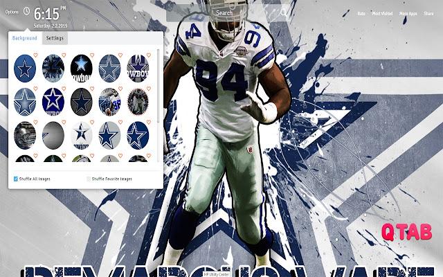 Dallas Cowboys Wallpapers New Tab