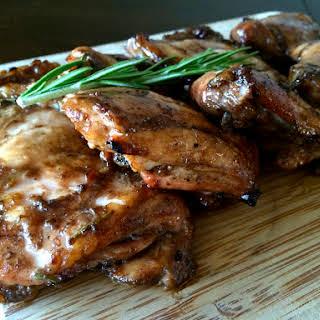 Balsamic Honey Mustard Chicken.
