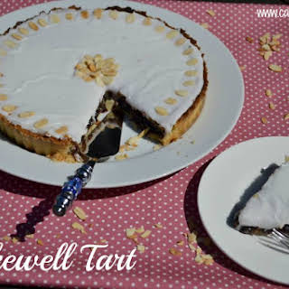Cherry Bakewell Tart.