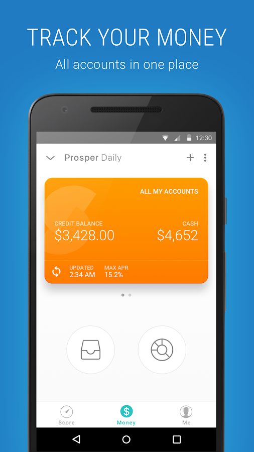 Prosper Daily - Money Tracker- screenshot